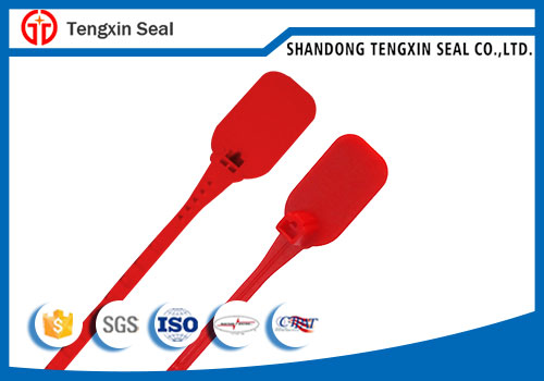 TX-PS208 Adjustable Length Plastic Seal with serial number