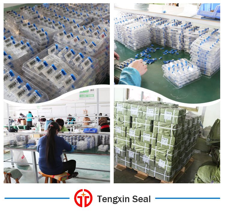 meter seal packaging and workshop