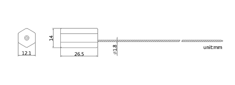 cable seal CAD