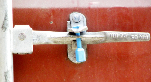 bolt seal for container