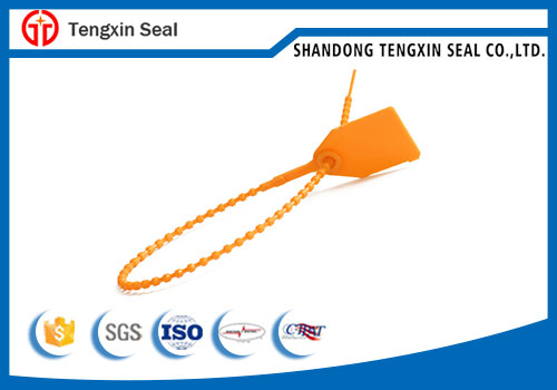 TXPS 306 Custom design embossed  plastic seal tag