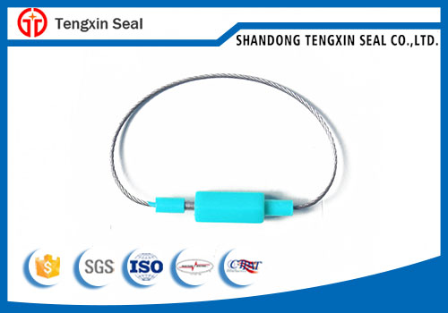 Adjustable tamper proof security lock cable seal