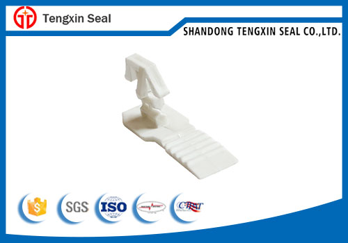 One Piece Integrated Self-locking Indicative Padlock Seal Plastic