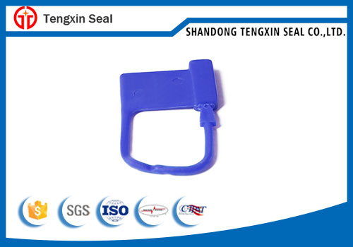 High security plastic padlock seal for Crash Cart Trolley
