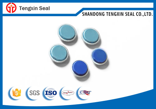 Tamper evident electrict plastic security meter seal with wire