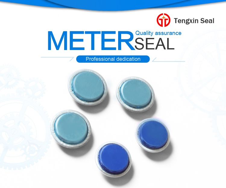 Tamper evident electrict plastic security meter seal with wire ...