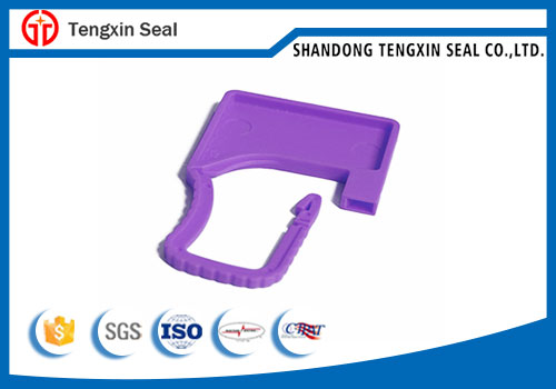 Tamper evident disposible padlock seal