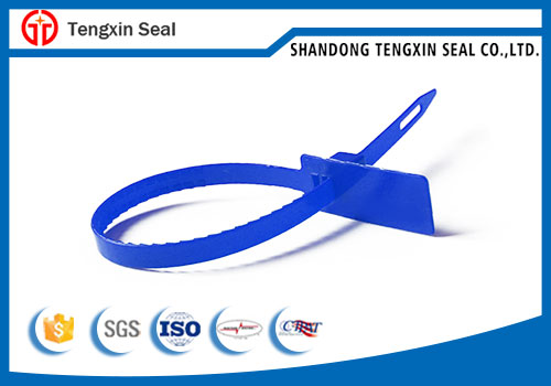 Tamper proof Metal insert plastic seal for airline