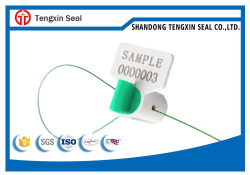 Utility water twist security plastic meter seal