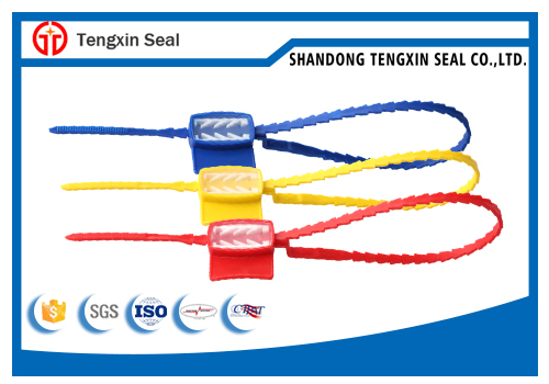 Barcoded Plastic Security Seal Custom Plastic Seal for Bag Packing